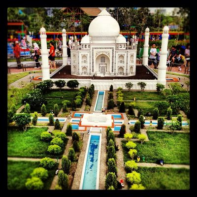 Taj Mahal at Legoland by RockChic