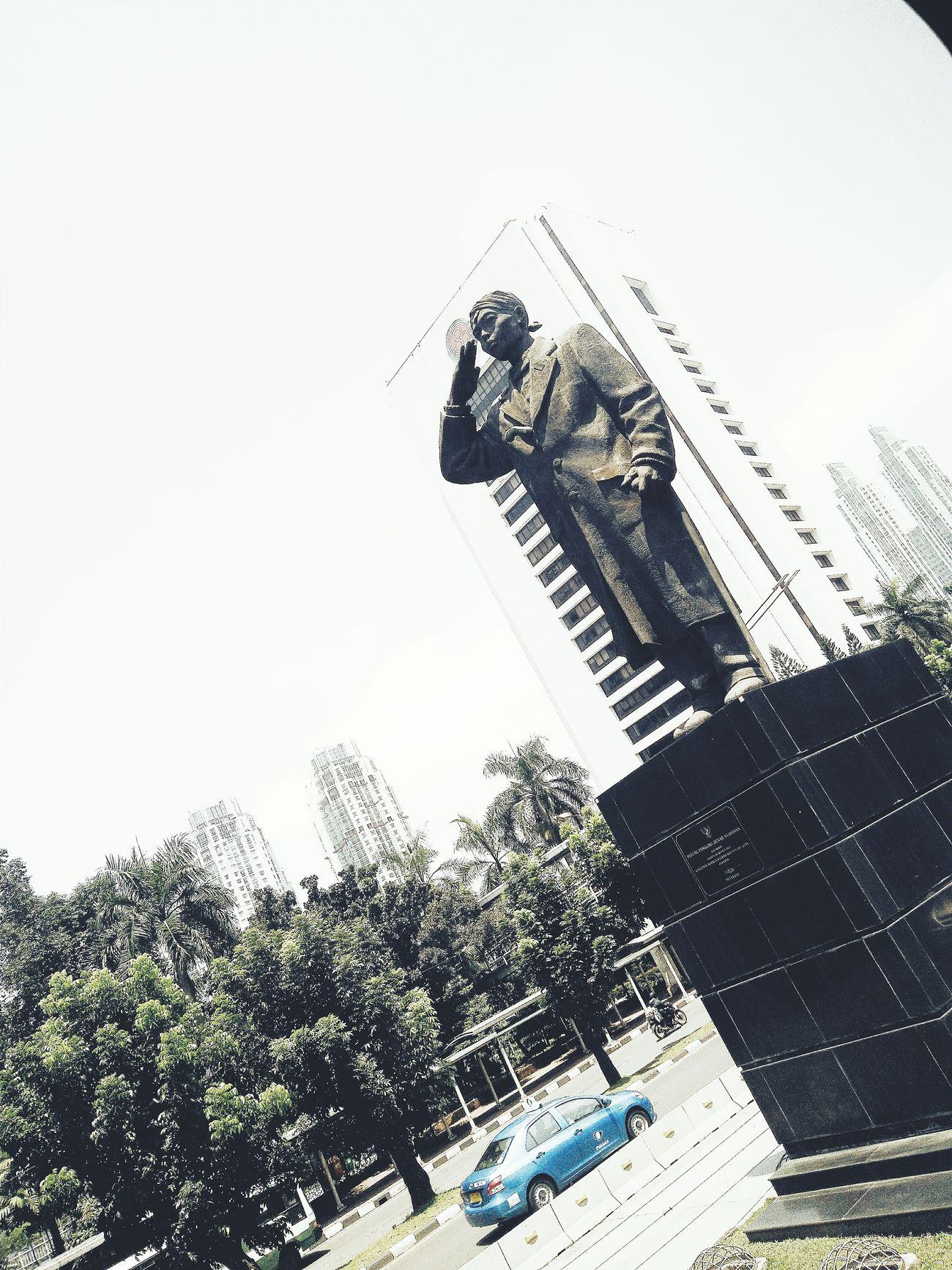 PATUNG JENDRAL SUDIRMAN Jakartaku  INDONESIA Pahlawan