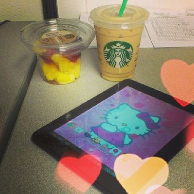 I got my #fruitsalad and #icedcoffee from #starbucks, now its time to get to work on some market research. #ilovemyjob Starbucks Luxury Icedcoffee Rkoi Fruitsalad ILoveMyJob Betcheslovethis Richkidsofinstagram Luxurylife Rkoig