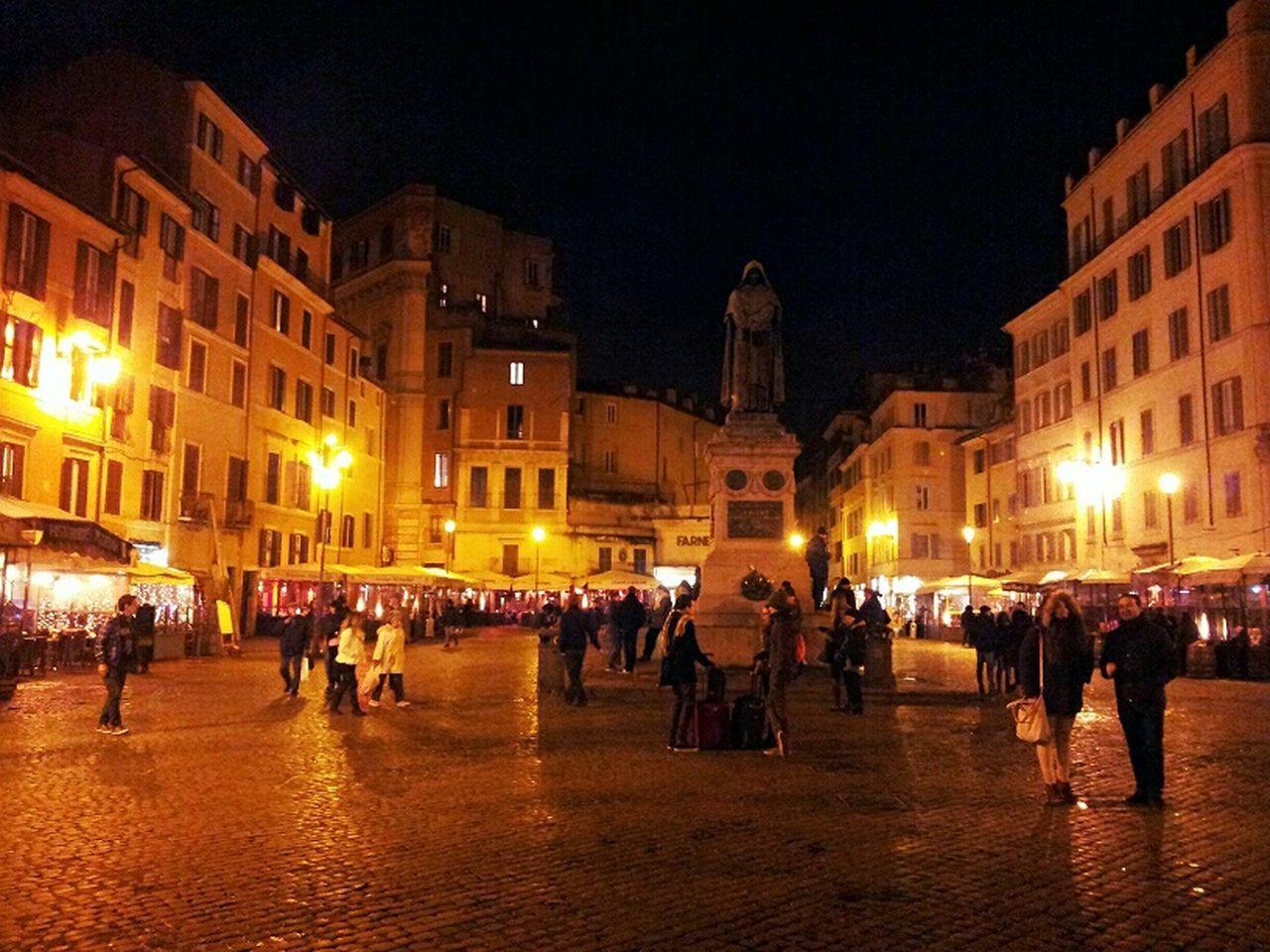 Campo Dei Fiori Giordano Bruno Roma