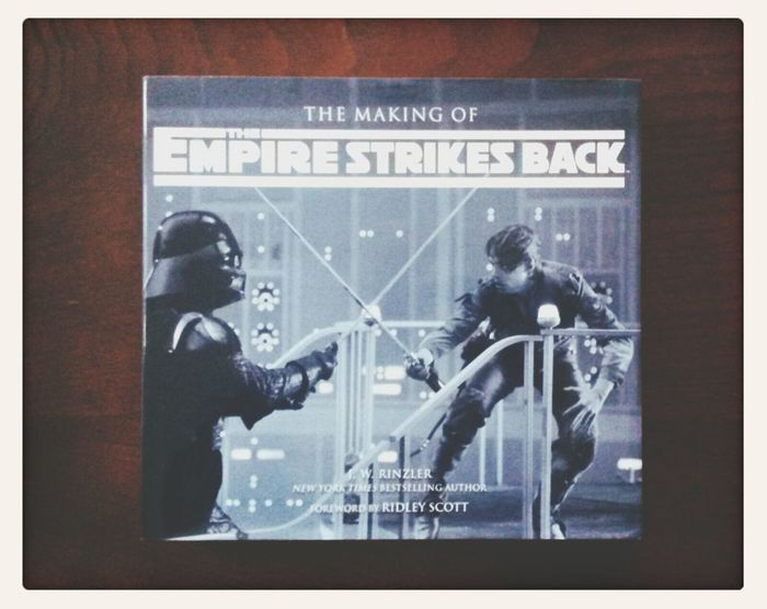 classic reading matter for darker days Star Wars The Empire Strikes Back Reading Material Books