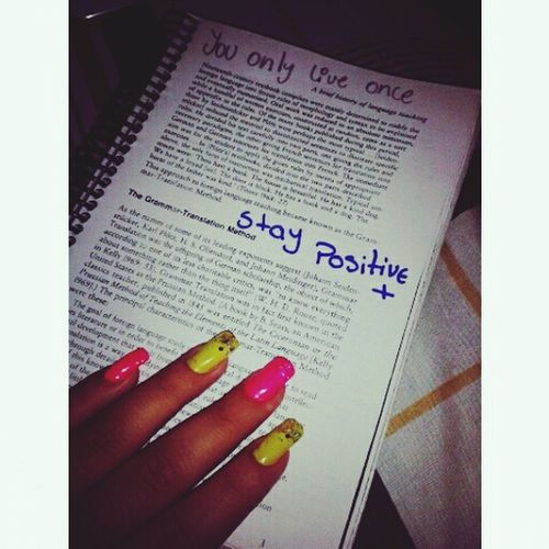 Studying Nails Perfect Staypositive