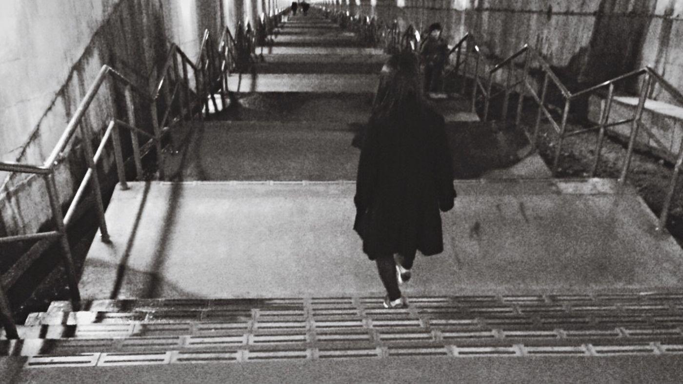土合駅 Station Japan Monochrome Blackandwhite Black And White Black & White Me