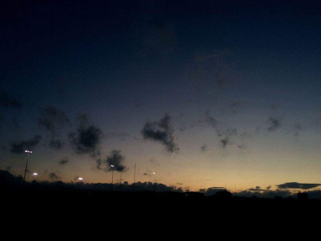 Sky Clouds Nighttime Walks