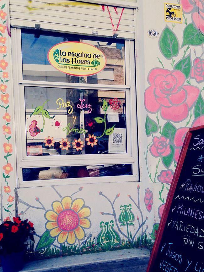 Buenosaires Flowers Love Food Veiggie