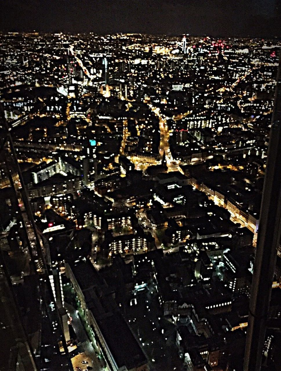 cityscape, city, building exterior, architecture, aerial view, no people, illuminated, night, outdoors