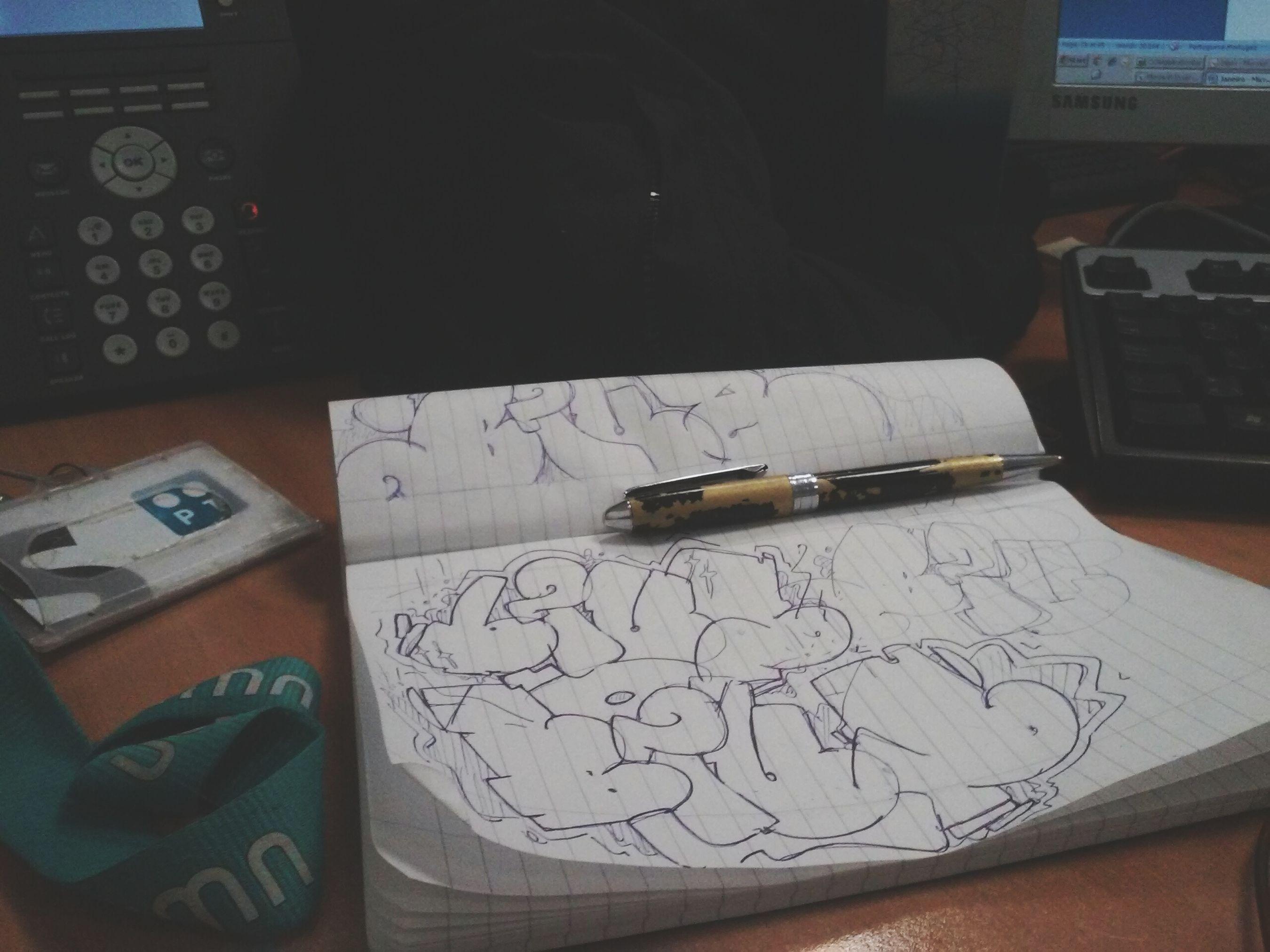 SketchALLday Blus