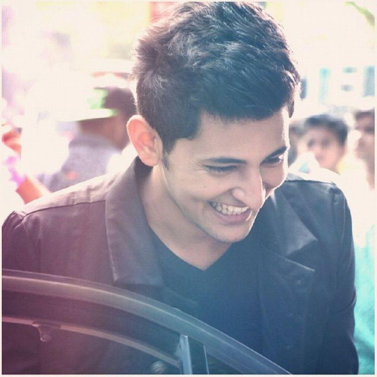 His smile.... Keep smiling like this.... Bestlucksir Respectusir @darshanravaldz