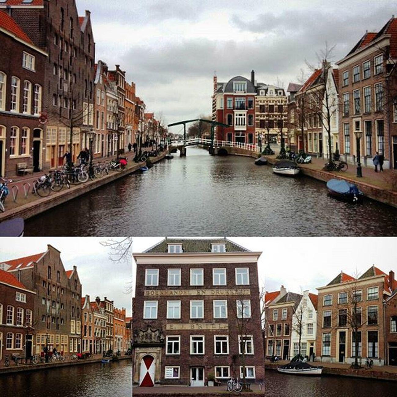 De Oude Rijn vanaf de Dullenbrug. Loveleiden Igleiden OnsLeiden Historicleiden Leiden OnsLeiden