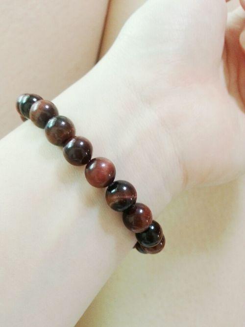 I LOVE MY FAMILY❤ Handmade Tigereye Bracelet ❤️