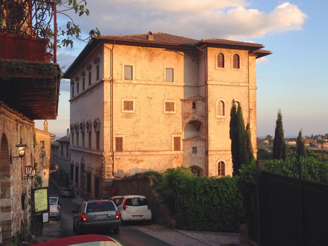 Architecture Sky Built Structure Building Exterior No People Outdoors City Day Tree Italy Amelia Travel Landscape Landscape_Collection Sunset