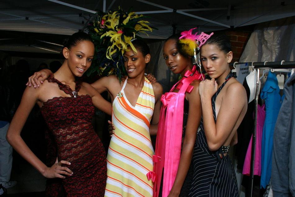 BK Fashion Show Enjoyment Fashion Fashion Models Fashion Show Fashion Show Background Happiness Lifestyles New York Smiling Togetherness Colour Of Life