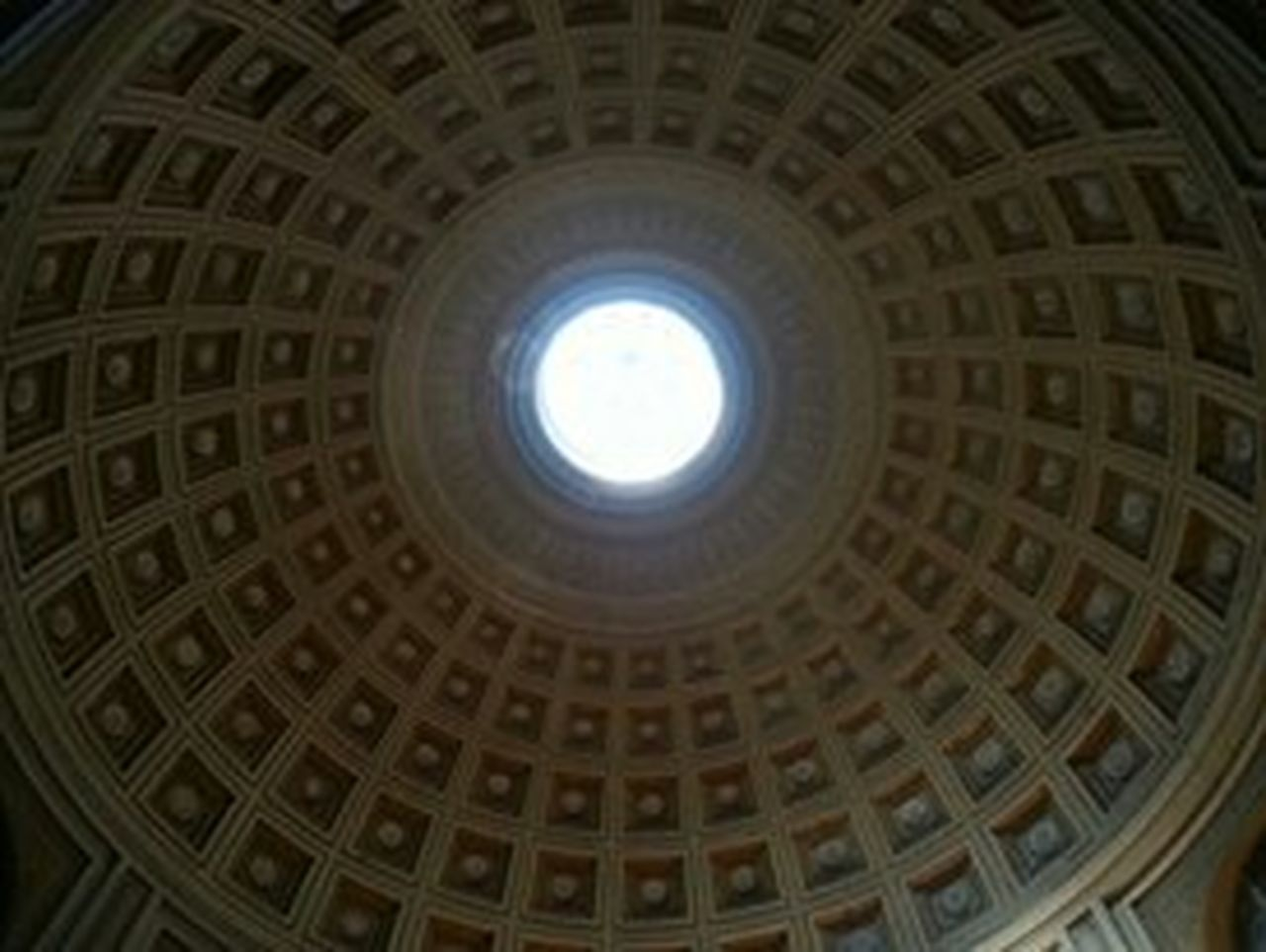 architecture, dome, history, built structure, cupola, travel destinations, low angle view, indoors, religion, ceiling, place of worship, spirituality, no people, day, city, sky