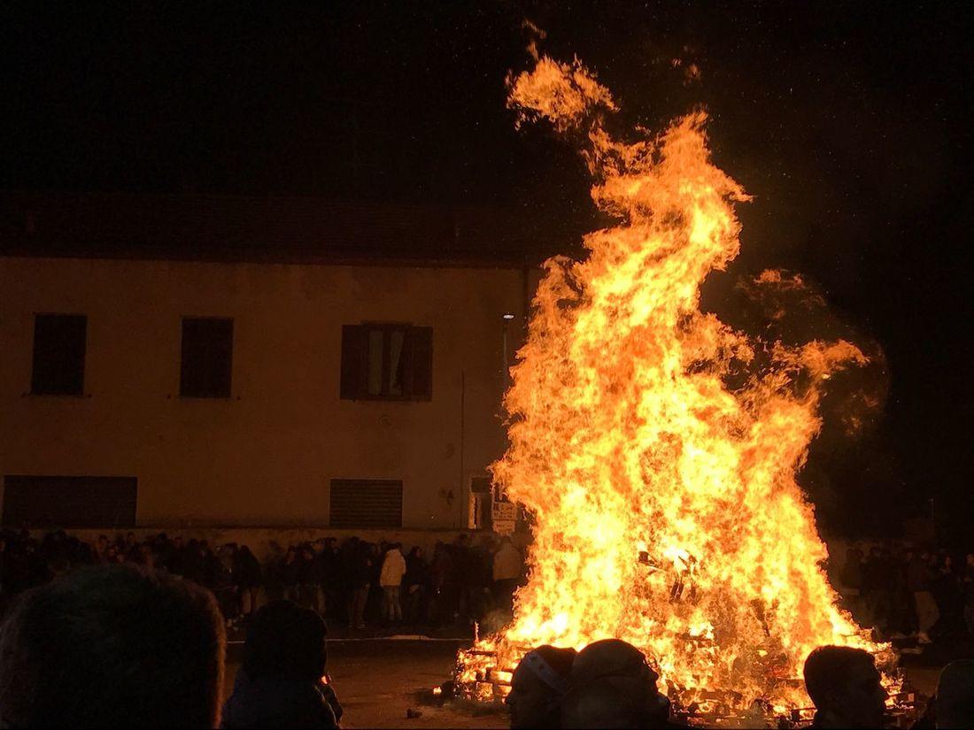 Xmas bonfire Xmas Night Fire Fire And Flames