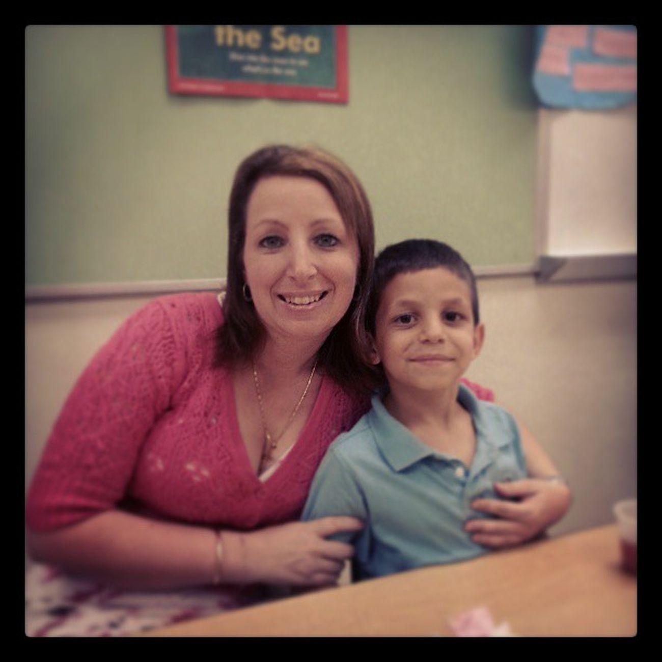 Mothersday Teaparty Son Kindergarten love family oaksteadelementary oakstead pascocountyschools @pascoschools
