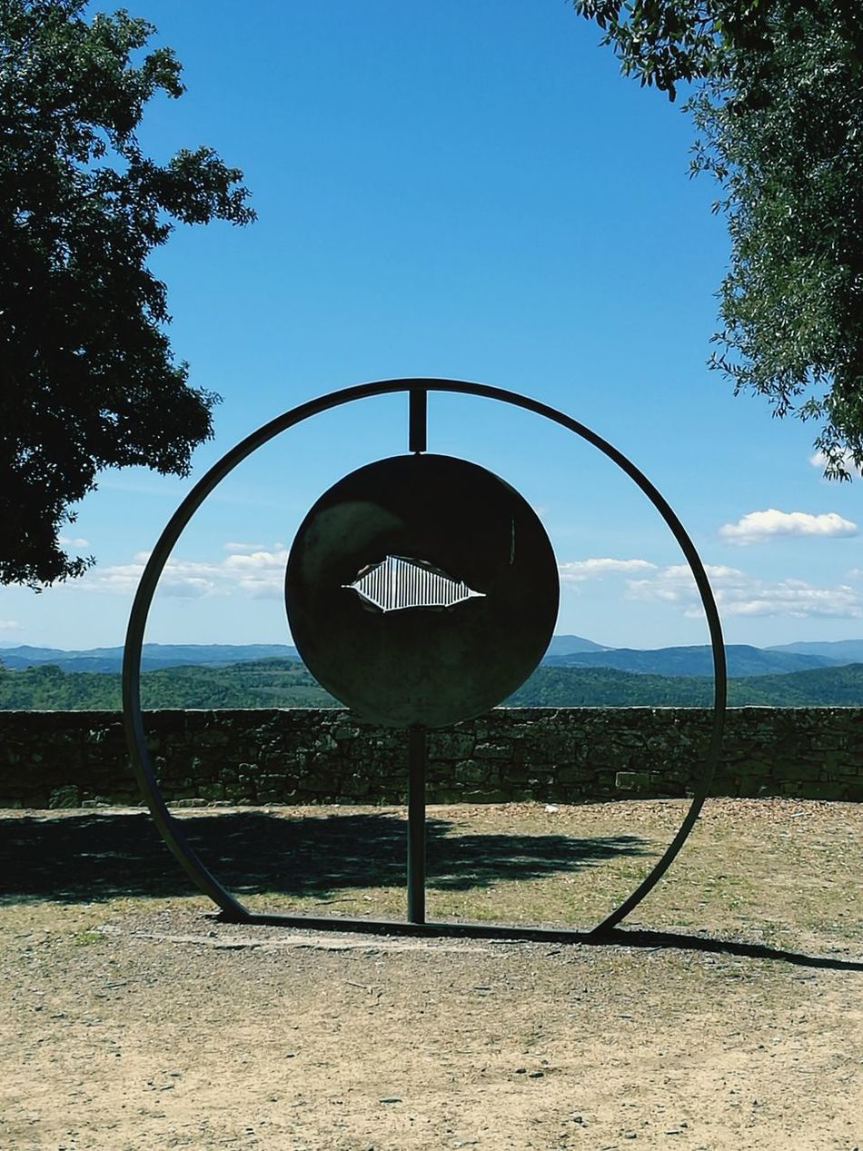 Art Is Everywhere Circle Tree No People Outdoors Sky Day Panoramic Landscape Panoramashot Open Your Eyes Infinity Beautiful View Artistic Expression Park
