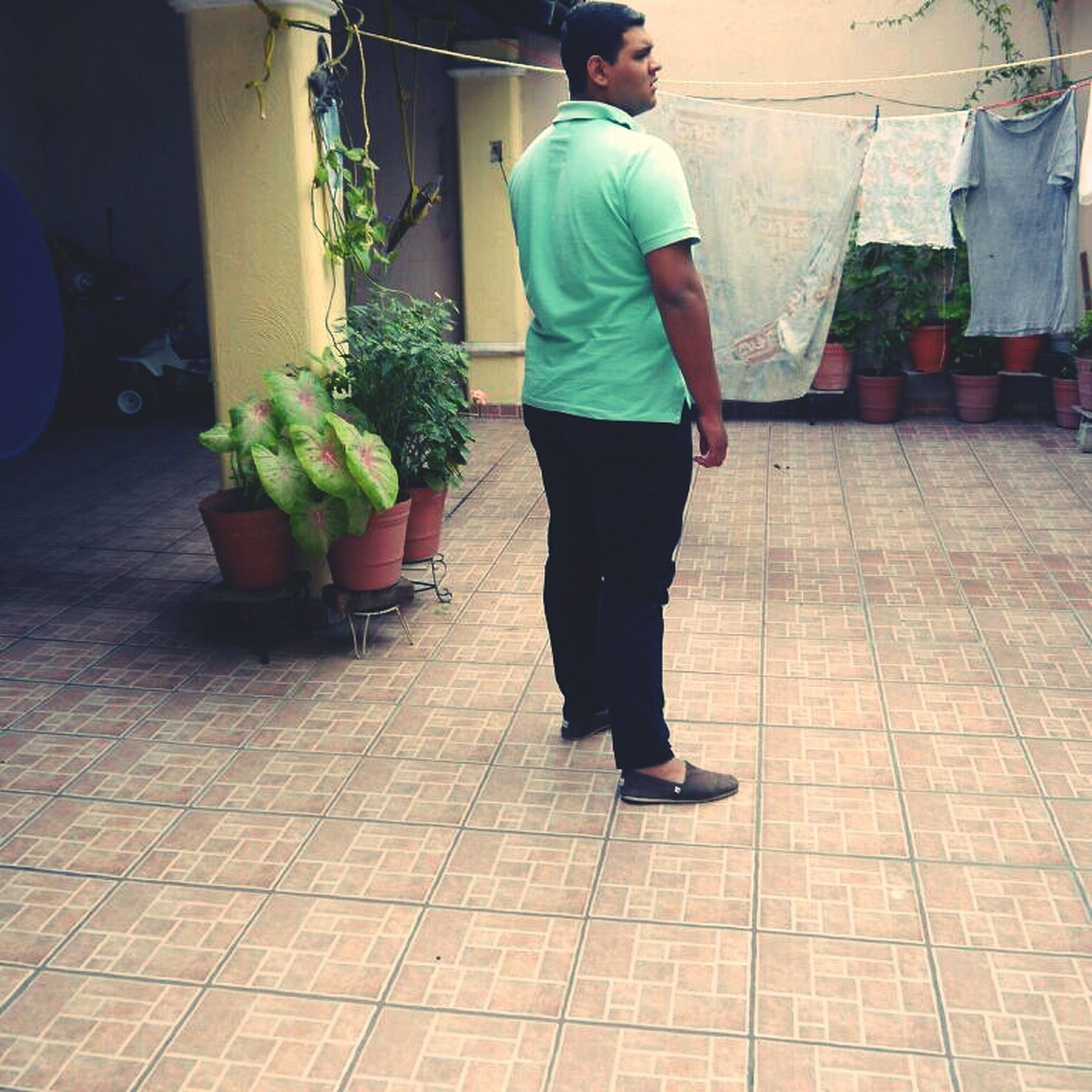 full length, casual clothing, lifestyles, men, leisure activity, walking, rear view, food and drink, street, childhood, food, sidewalk, standing, person, boys, day, footpath