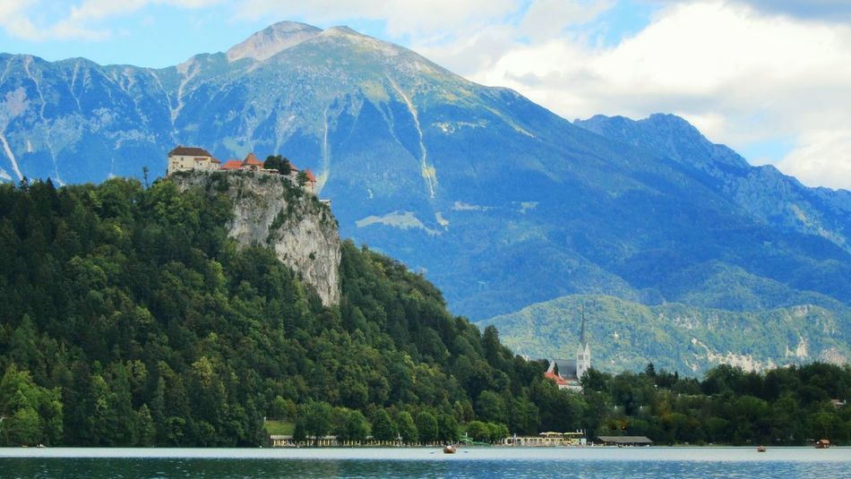 Travel Photography Travel Destinations Tourist Attraction  Tourism Outdoors House Mountains And Sky Mountain Landscape Arhitecture Bled Island Bled Lake Slovenia Bled, Slovenia Bled Castle Slovenia Scapes Slovenian Alps Slovenia Nature Alps