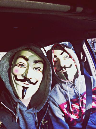 Anonymous Délires Carnaval Kiss !!