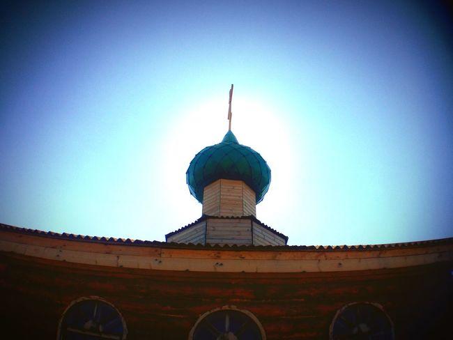 Church Sun Bathed