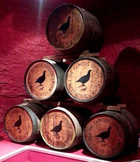 Barells Casks Whisky Famousgrouse Distillery
