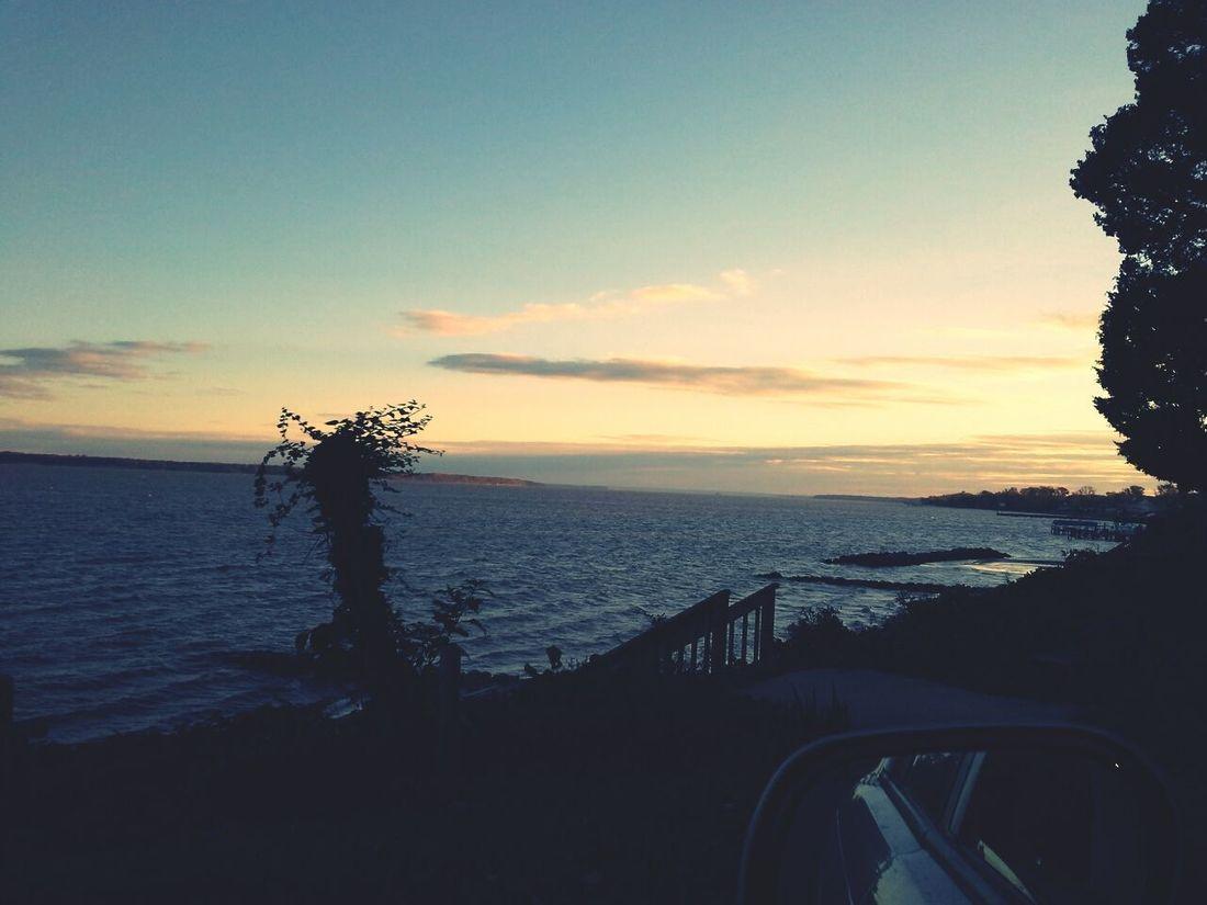 Sunset Beach View Throughmyeyes