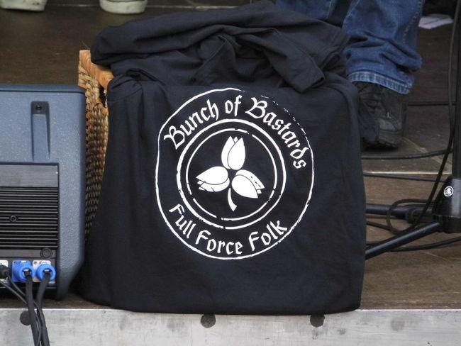 Bastards Black Color Close-up Focus On Foreground Information Information Sign Logo Design T Shirt