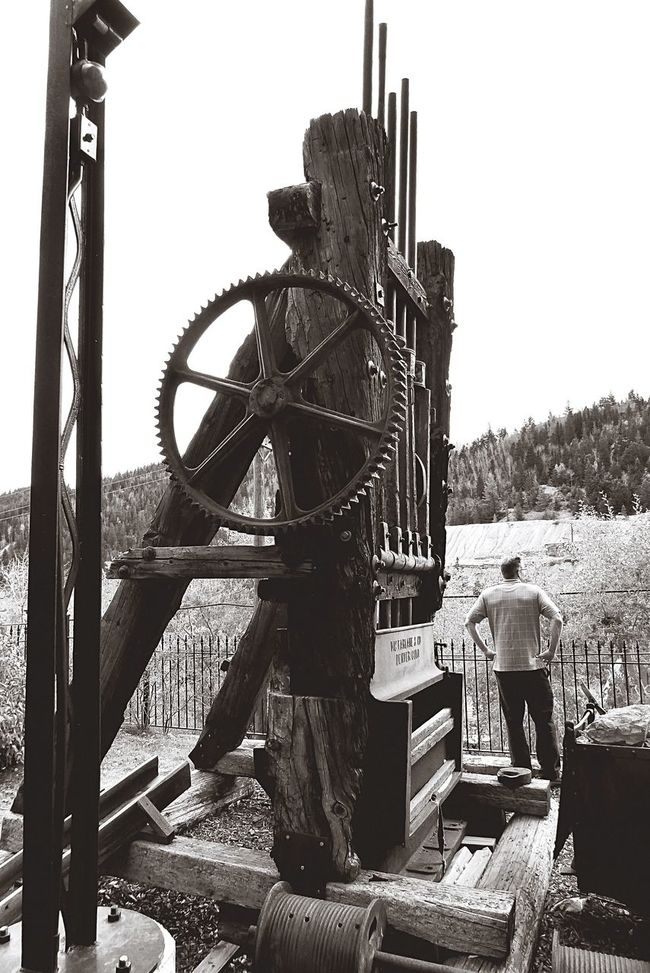 There is something eerie about old mining equipment. Outdoors Mountain Town October Colorado Colorado Photography History Mountain Autumn Man Made Object Mining Mining Heritage Mining Industry Mining Town