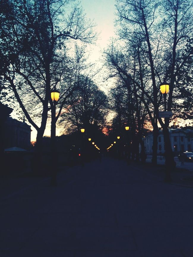 Oslo From Dusk Till Dawn Skummring Street Photography