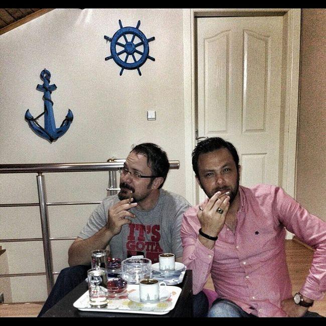 Kardeşim Sonsuzakadarberaber Istanbul Kahve ve captainblack keyfi