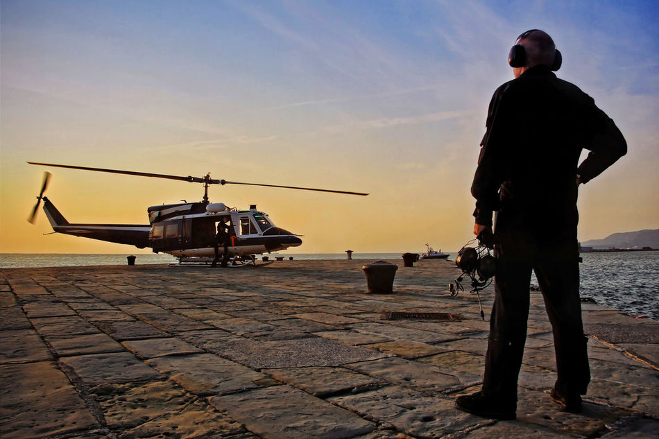 Beautiful stock photos of roma, 35-39 Years, Aerospace Industry, Air Vehicle, Ear Protectors