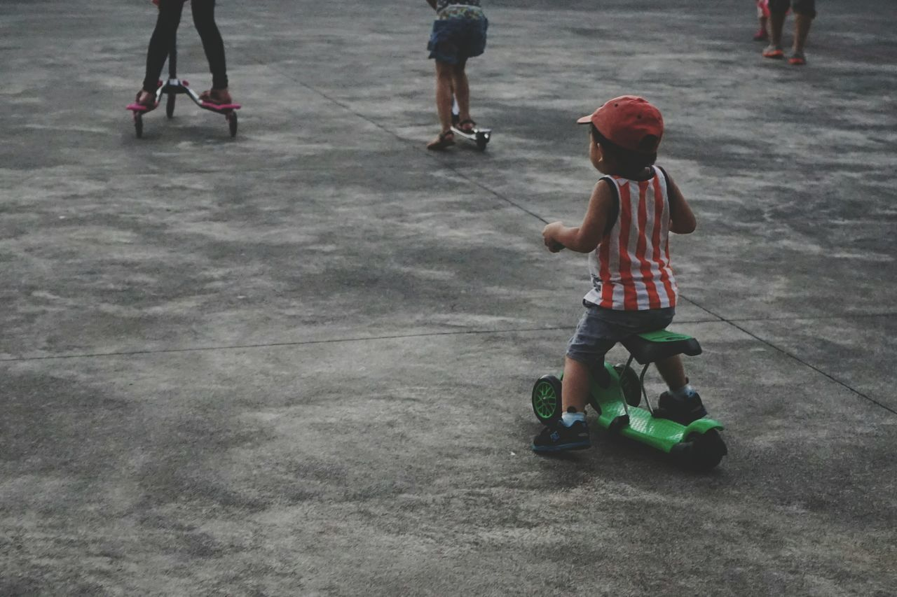 Enjoy The New Normal Childhood Riding Child Streetphotography Speeding Learning RePicture Growth Racing