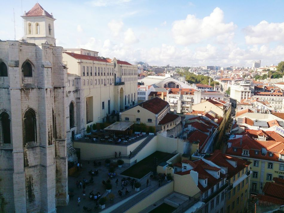 Elevador De Santa Justa Largo De Carmo Lisboa Lisbon