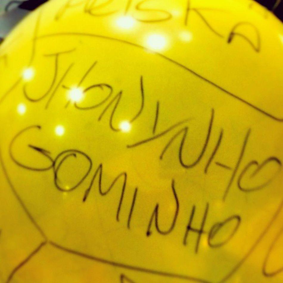 Nice Balao Friends Instagood Criativo Yellow Balloon Apelido Work