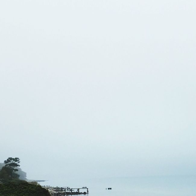 Misty days lately.. The Calmness Within Love The Ocean Landscape_photography Weekend Naturelovers