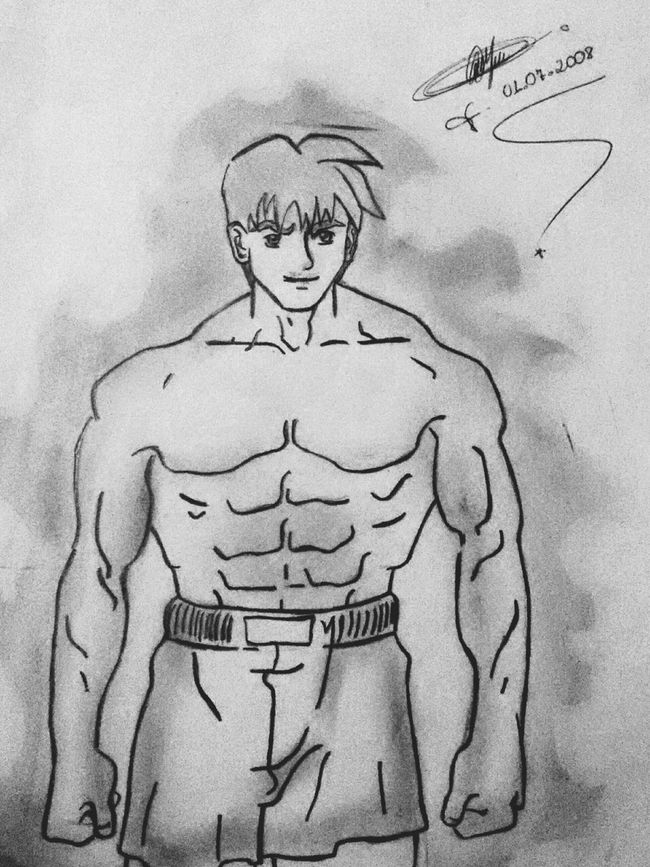 Drawing Dibujo Muscle Desenho Fitness LM_colection Art Artistic Art Gallery My Drawing