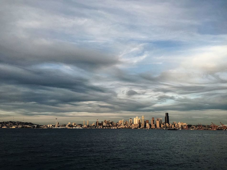 Beautiful stock photos of seattle, Horizontal Image, Seattle, United States, cloud