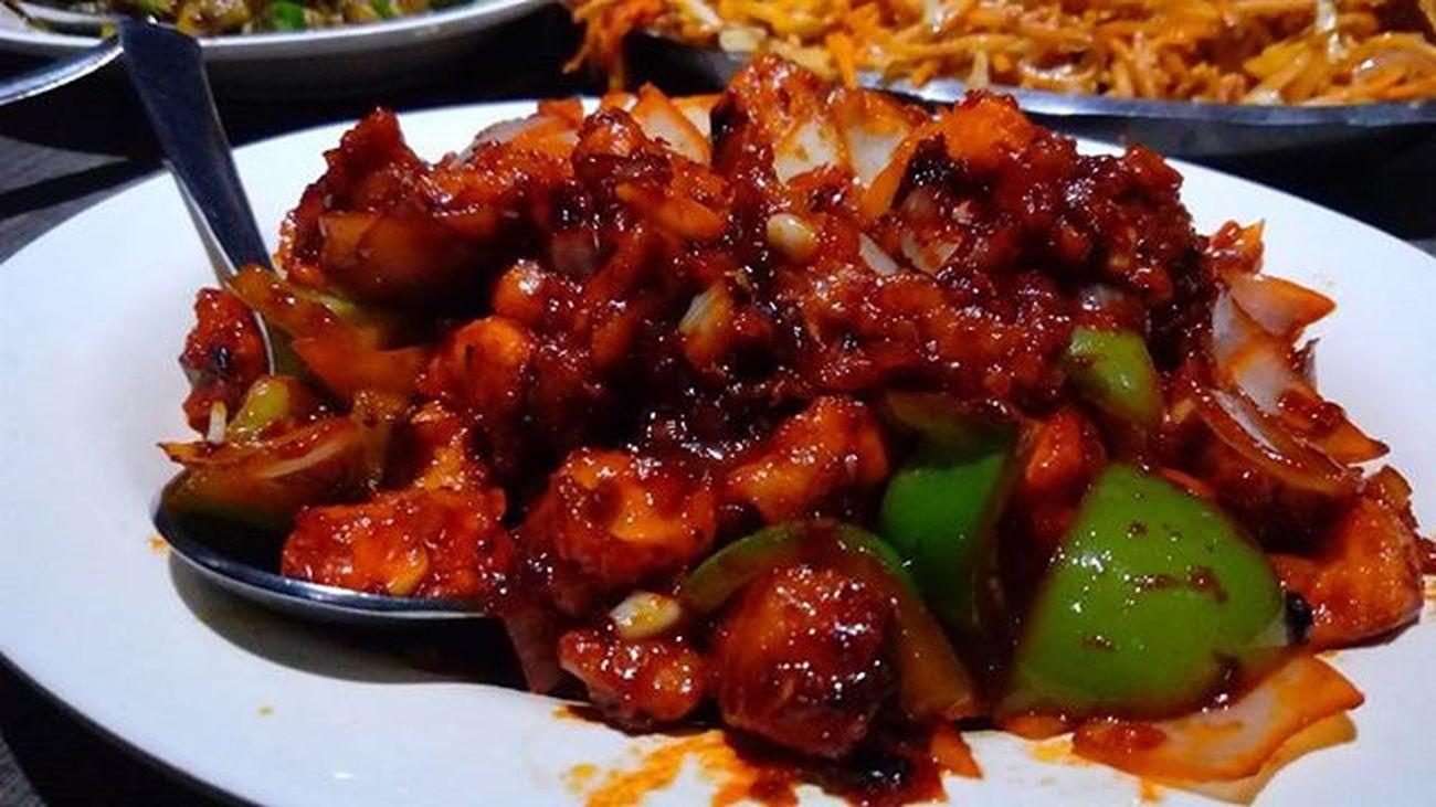DagonChickenDryFry Chinese MingRestaurant Thrissur Mouthwatering Hangout Friends Collègues Keltronites Eyem Foodoftheday Mobilephotography LenovoK3 EyeEm Best Shots Eye4photography  Eyeemphotography