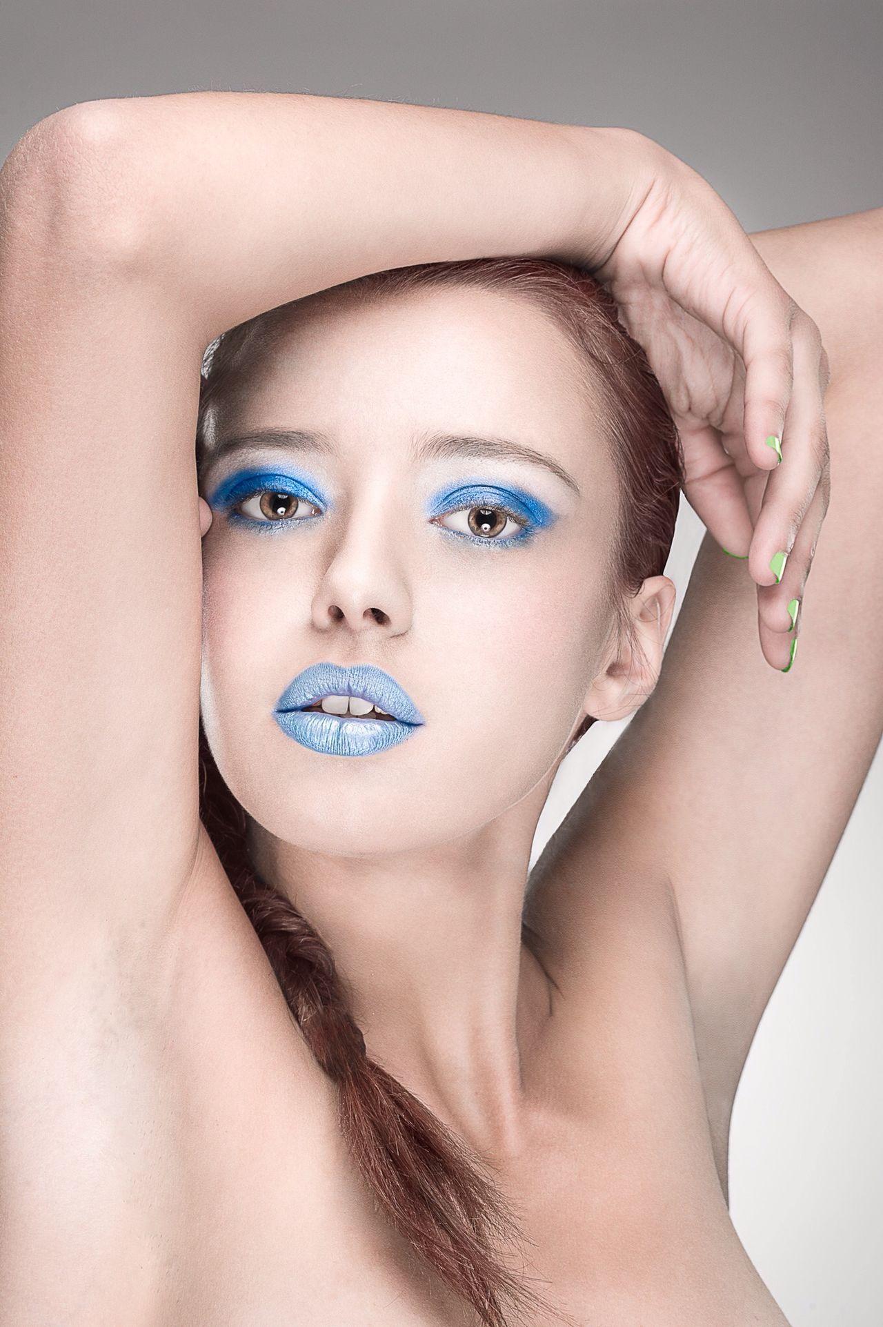 Women Beauty Model Portrait Of A Woman