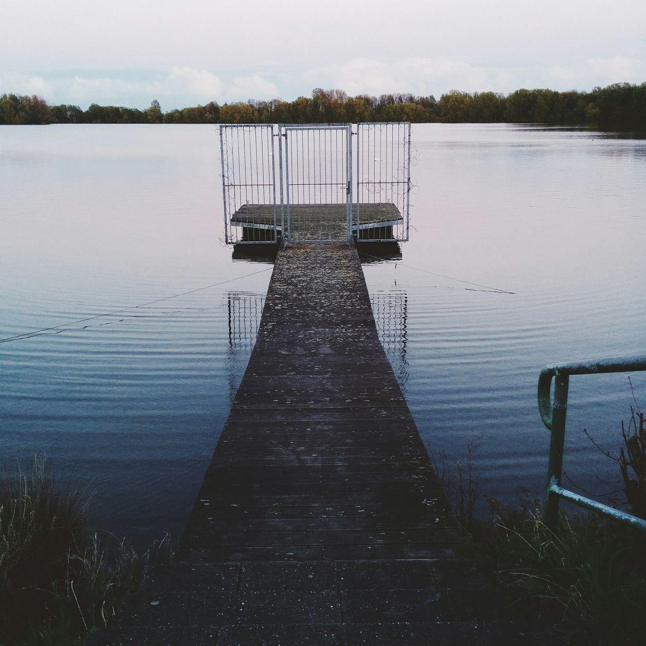 Taking Photos Relaxing Enjoying Life Popular Photos Wisseler See Landscape Water Sea And Sky Door Mystery