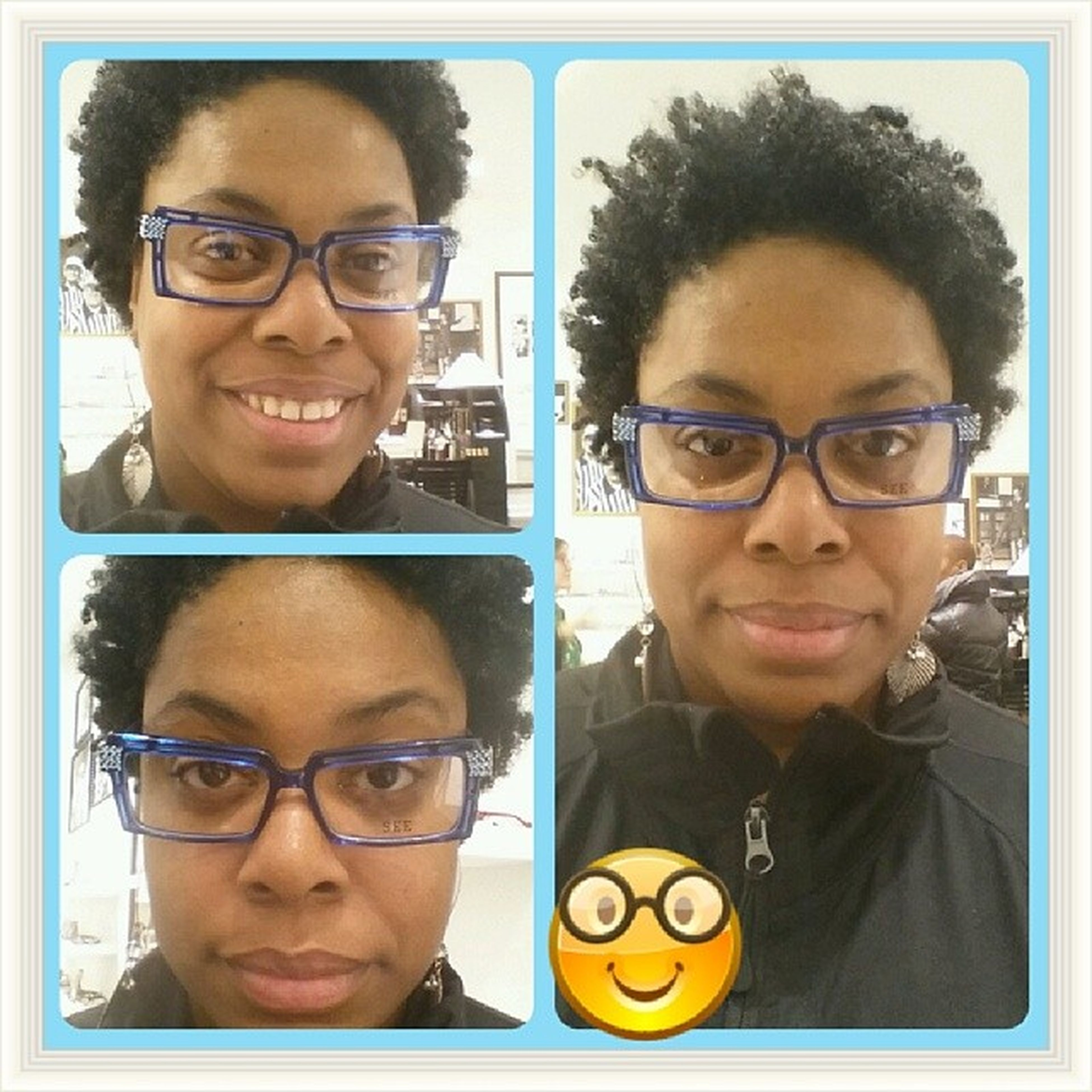 Another pair from @seeeyewear that look cute to me. Took this picture last week.