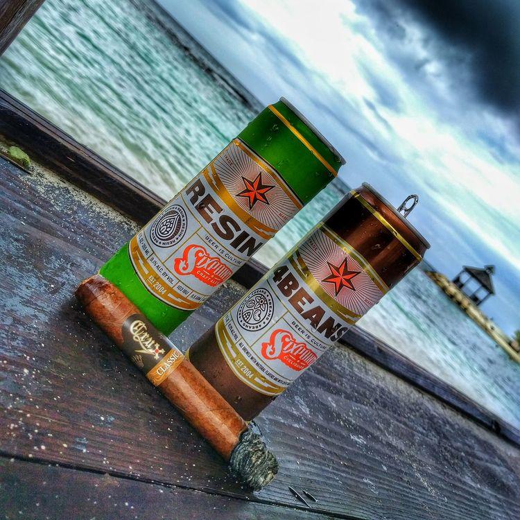 Amazing! Craftbeer Cigars Beach Jamaica
