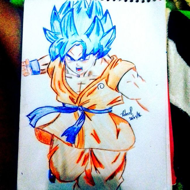 04/02/16 Art MyDrawing Mydraw Goku