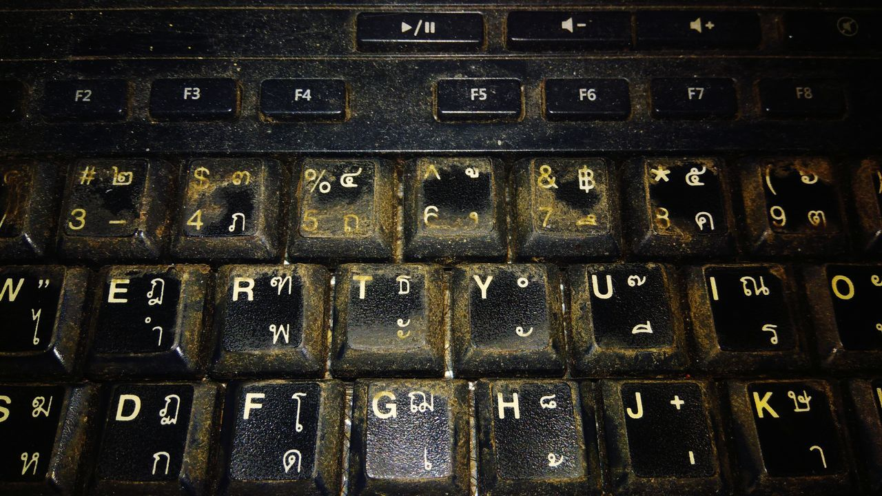 alphabet, full frame, backgrounds, communication, text, technology, computer key, no people, keyboard, indoors, close-up, computer keyboard, day