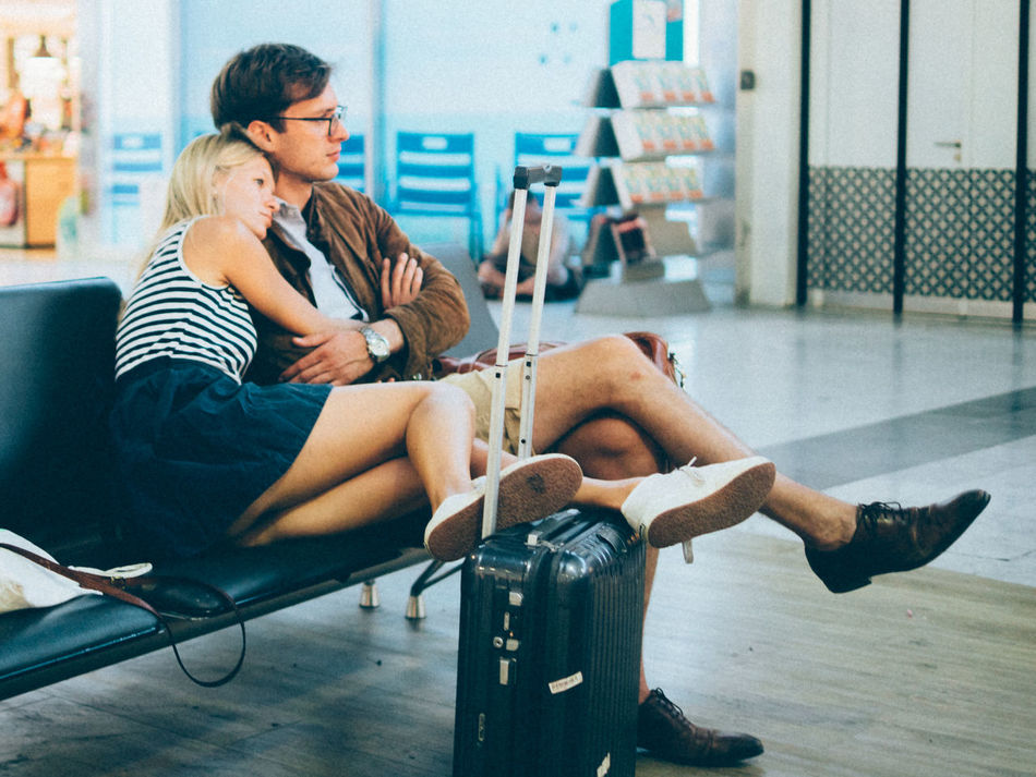 mellow traveling Couple France Life Traveling