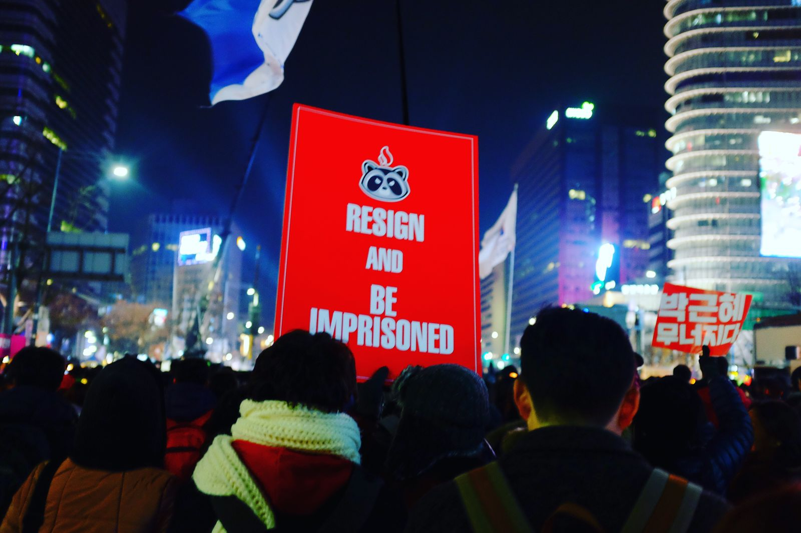 Gwanghwamun Square Candle Rally