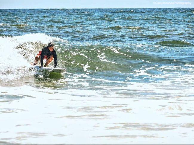 Water Tranquil Scene Summer Person Non-urban Scene Outdoors Surfing Peoplewatching August Newjersey Asburypark Sea Movement Ocean Seaside Nikon Tranquility Digital Wave Day First Eyeem Photo Photography United States FirstEyeEmPic Eyemphotography
