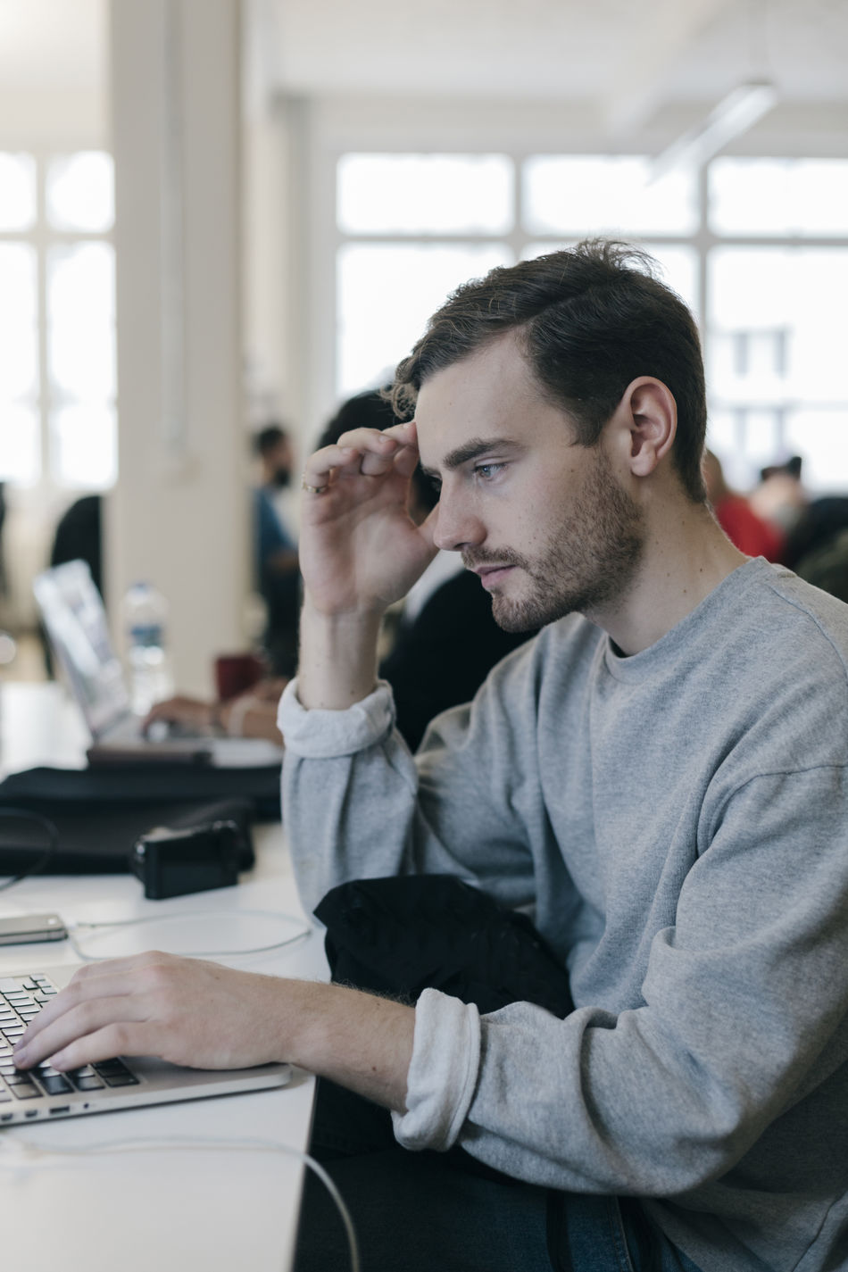Beautiful stock photos of internet, Berlin, Business, Concentration, Creative Occupation