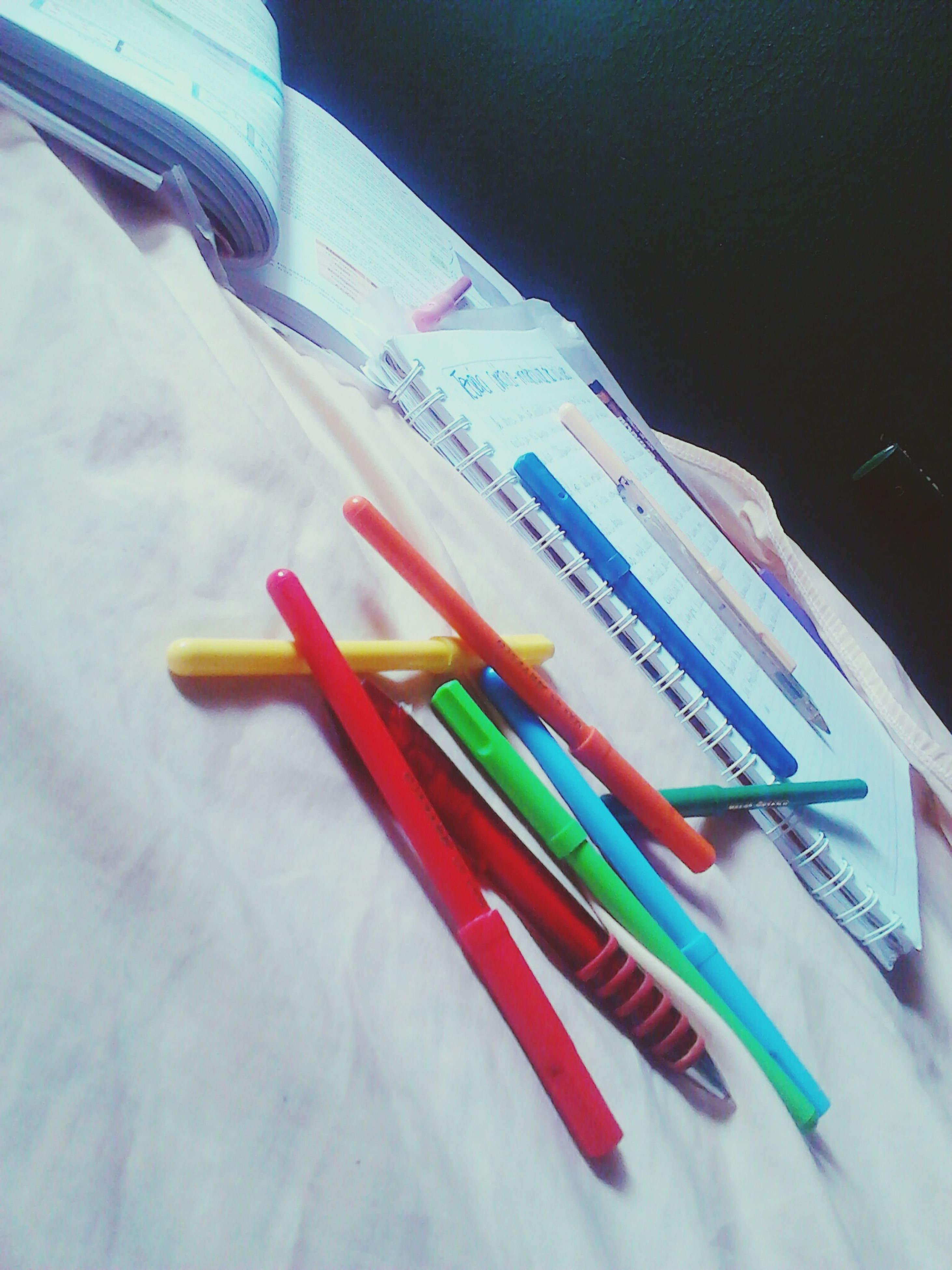 multi colored, variation, still life, indoors, colorful, pencil, colored pencil, high angle view, close-up, large group of objects, table, choice, pen, no people, arrangement, plastic, education, white color, group of objects, paper
