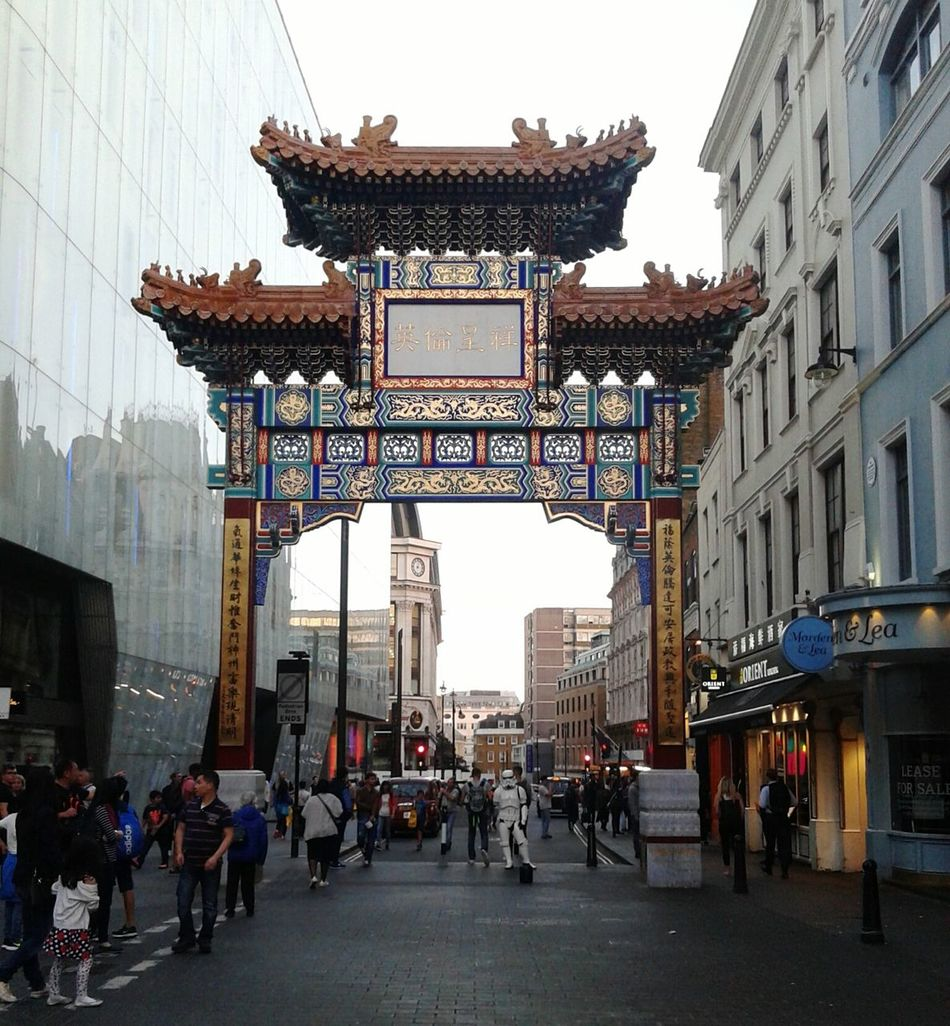 Chinatown Chinatownlondon Architecture City Street Travel City Life Famous Place Tourism Culture Taking Photos Urban Context London Europe United Kingdom Sunny Day Photography Summer August 2016 Colors Sunsettime Nofilter 2016 August